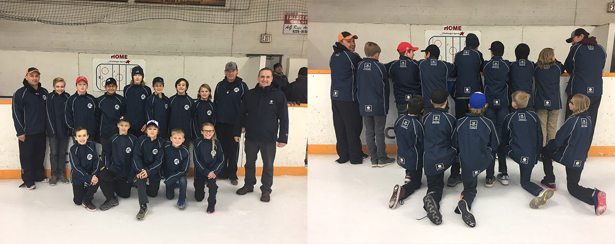 Elk Point Avalanche, Vegreville Minor Hockey PeeWee Tier 1 Sponsorship